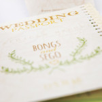 Passport Invitation with Natural Elements