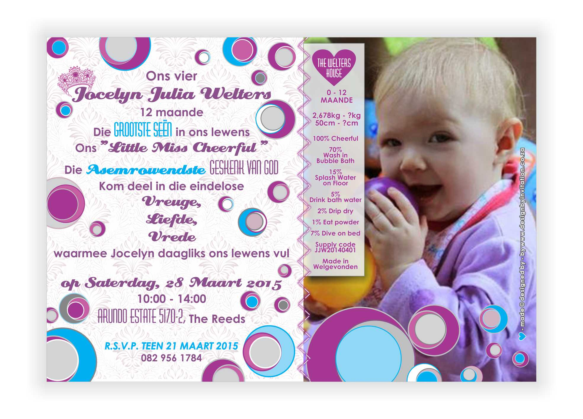 Event Invitation Design for awesome invitation layout
